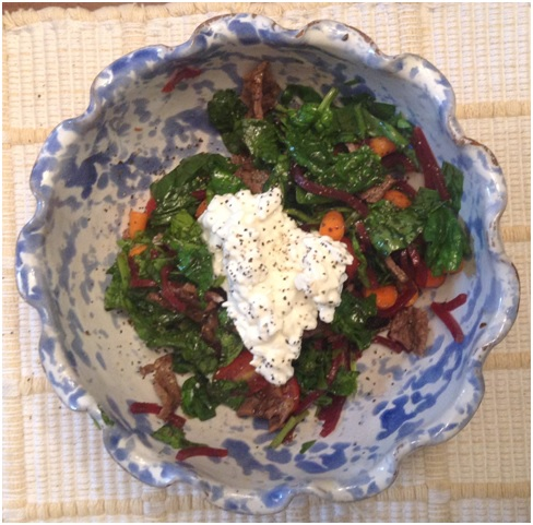 Steak and Beet Salad 2